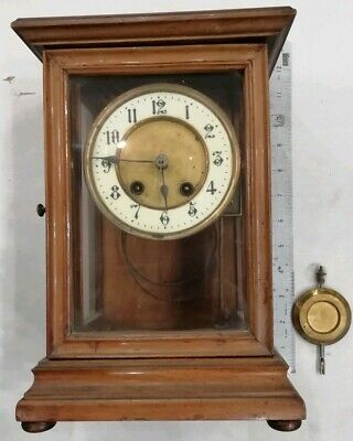 Mechanical Clock Apprentice Piece Spares Repair Vintage