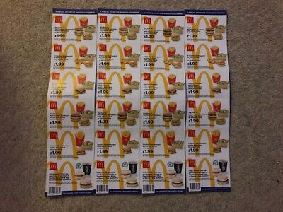 McDonalds Vouchers - Cheap Food