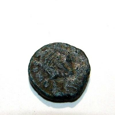 641 - 668 Ad Byzantine Constans Ii Ae Bronze Nummi Carthage Mint Ancient Coin
