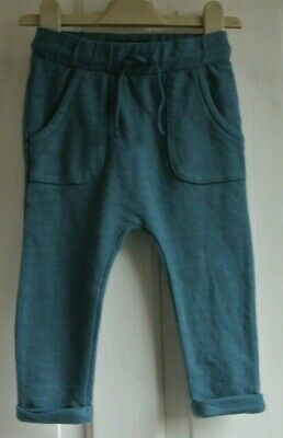 New Next  baby Boys Joggers Blue size 12-18  months