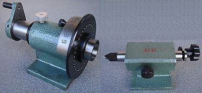 Index System Index-Teilapparat for 5C-Spannzangen with Matching Tailstock