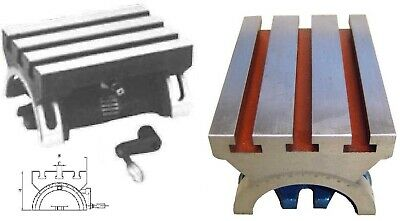 Swivelling Table Angle Spanner Machine Table 178x127 mm New