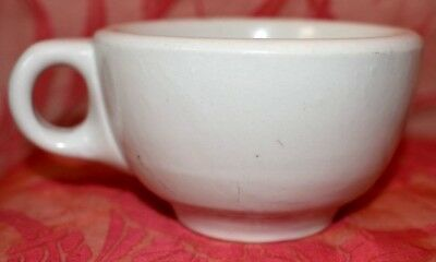White Cafe Restaurant ware Coffee cup Mug pottery