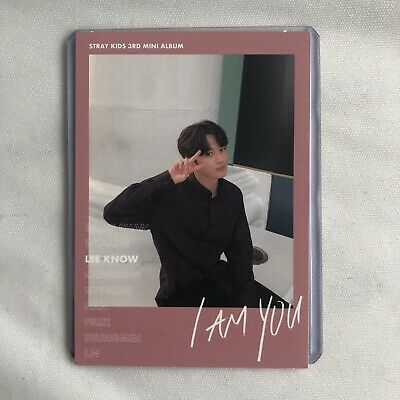 Stray Kids I Am You - Lee Know/Minho Pink Polaroid Photocard