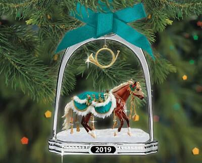 Breyer NEW * Minstrel Stirrup Ornament * 2019 Christmas Holiday Model Horse