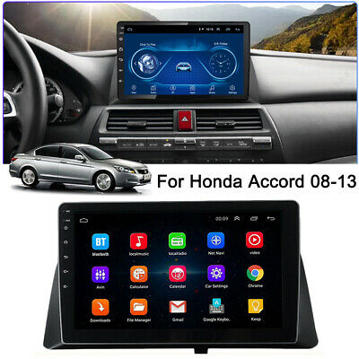 10.1'' Big Screen Android 9.1 Quad-core Stereo GPS WIFI FM MP5 For Honda Accord