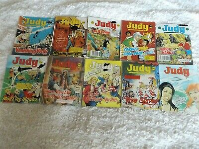 VINTAGE  JUDY  Picture Story Library For Girls  Comics