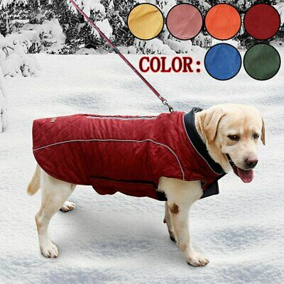 Pet Dog Warm Waterproof Padded Vest Coat Clothes Puppy Winter Jacket Apparel USA