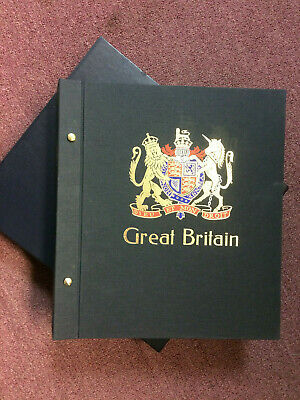 RHODESIA Stamp Album & case including hingeless pages/leaves Stanley Gibbons B