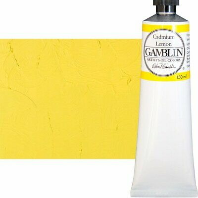 Gamblin Artist's Oil Color 150 ml Tube - Cadmium Lemon