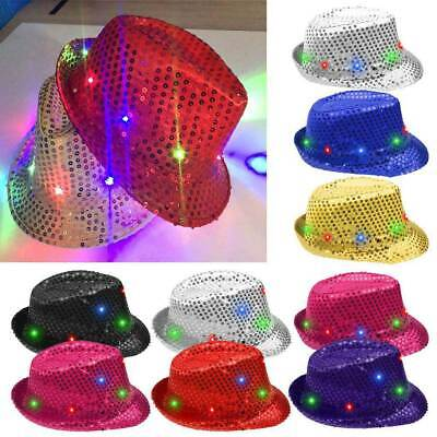 Capone Party Club Dance Jazz Hat Boy Girl Kid Perform Bling Sequin Prop Glove