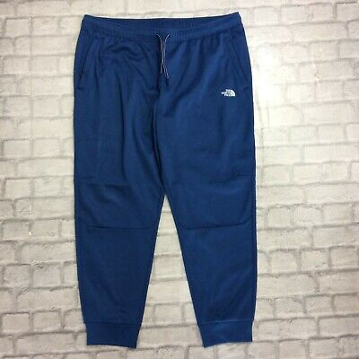 The North Face Uk Xxl Mens Blue Train N Logo Track Pants Joggers Sports Rrp £70