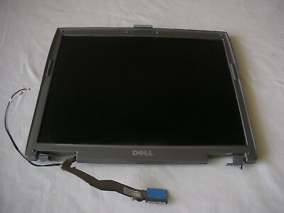 """Display Dell Latitude D610 PP11L 14,1 """" LCD+Frames +Hinges +Cables"""
