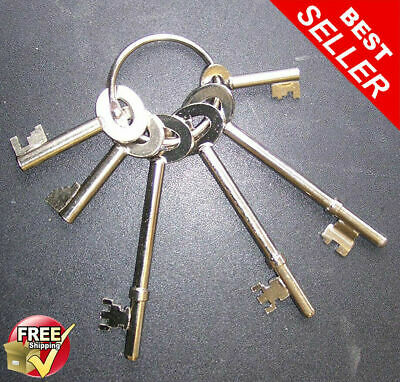 Fire Brigade Master Key Set FB1 FB2 FB4 FB11 FB14 FB5 All 6 FB Keys Supplied