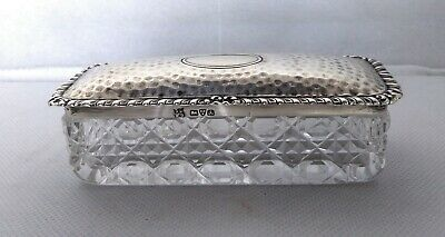 Antica Scatola Argento 925 Sterling Silver Chester 1901 Box