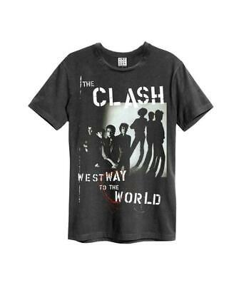 """T-Shirt-Amp-NEUF! charbon THE CLASH /""""Westway To The World/"""""""