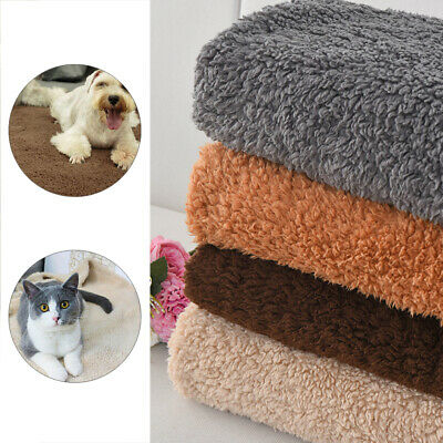 Extra Large Soft Cosy Warm Fleece Pet Dog Puppy Cat Animal Bed Blanket Throw