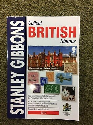 2019 Collect British Stamps by Stanley Gibbons FREE DELIVERY! SECONDS