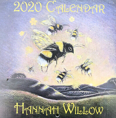 HANNAH WILLOW 2020 WALL CALENDAR Planner PAGAN WICCAN Hare GODDESS HOME OFFICE