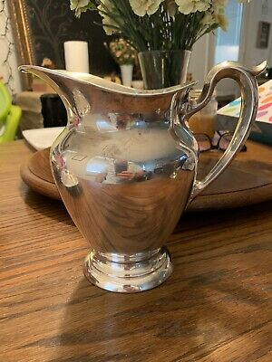 "Gotham Sterling Silver Water Pitcher 182 Old French 8 3/4"" Tall  663 Grams"