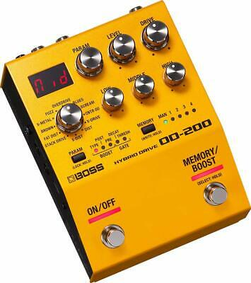 BOSS OD-200 HYBRID DRIVE Overdrive Guitar Effect Stomp Pedal