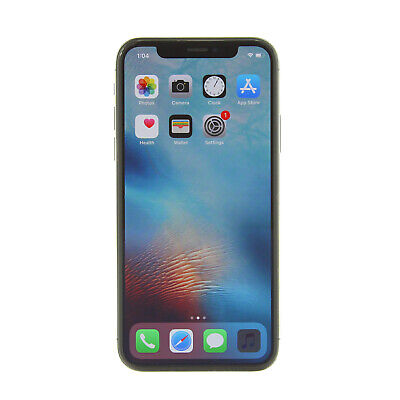 Apple iPhone X a1901 64GB Space Gray AT&T T-Mobile GSM Unlocked -Very Good