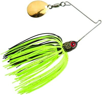 Lot 3 BYMPM18 Booyah Micro Pond Magic Spinnerbait 1//8 oz Alpine Fishing Lure
