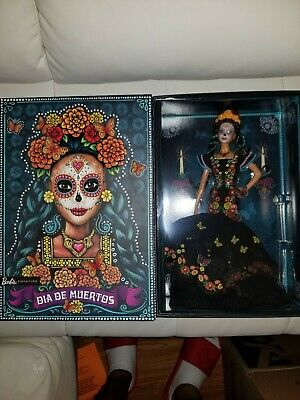 💥IN HAND!! NEW! Barbie Dia De Los Muertos- Doll 2019 Mattel- Day of The Dead💥
