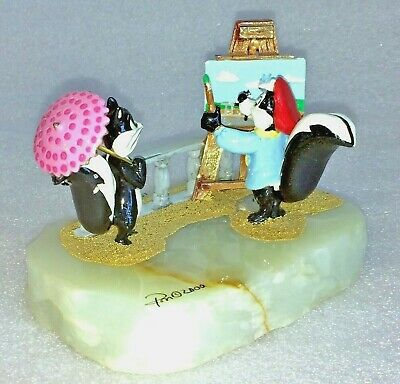 Ron Lee Collectibles Pepe Le Pew and Penelope in Paris #152/1500 Statue/Figurine