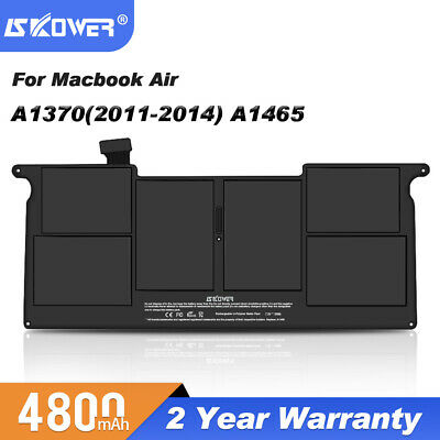 """SKOWER A1406 Battery For Apple MacBook Air 11"""" A1370 Mid 2011 A1465 2012 A1495"""