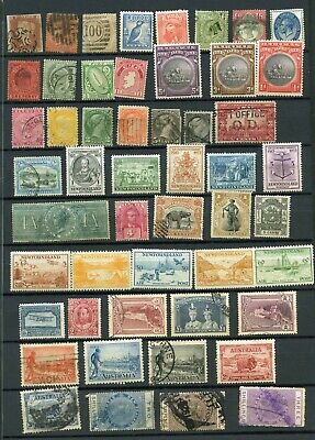 Mixed Commonwealth Postage Stamps to 1953