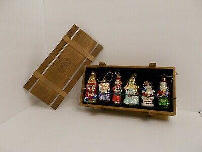 Thomas Pacconi Classics 2004 Collection Night Before Christmas Ornament Set