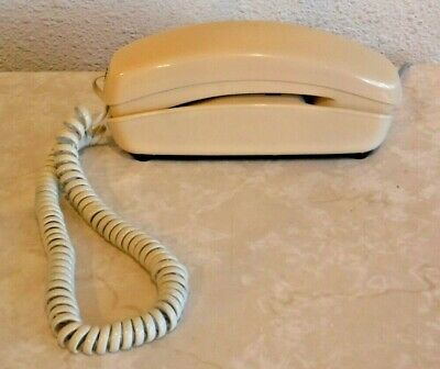 Western Electric Square Push Button Working Telephone Ivory Vintage Phone