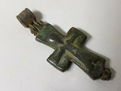 MEDIEVAL BYZANTINE RELIQUARY  CROSS   10th-13en century AD
