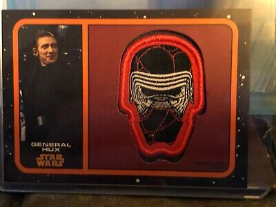 Star Wars Topps Patch Card Journey Rise of Skywalker Orange /50 Hux