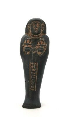 Ancient Egyptian Ca.1000 Bc Faience Ushabti  -  R 91