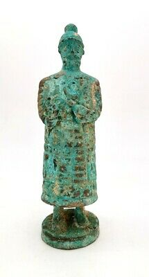 Western Asiatic Ca.2000Bc  Bronze Figure Of A Priest   - R 93