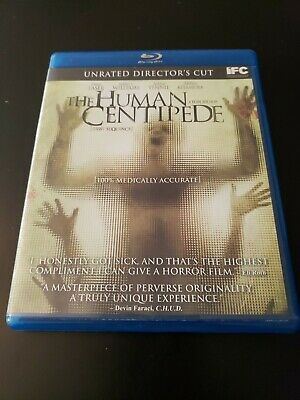 The Human Centipede (Blu-ray Disc, 2010) Directors Cut Horror Tested (BX1)