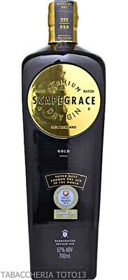 Scapegrace Gold Dry Gin Navy Strength Vol.57% Cl.70