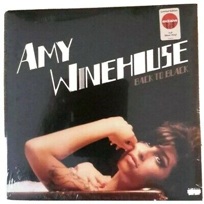 Amy Winehouse Back To Black Exclusive Silver Vinyl New Sealed