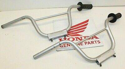 Qty 2 GENUINE Honda CRF50 Recall Handlebars w/ Grips For Parts or Repair