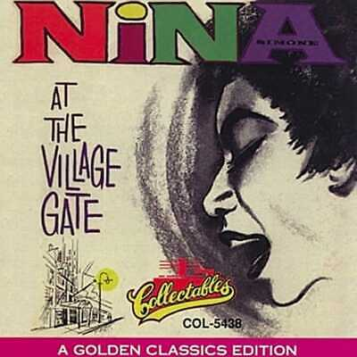 Nina Simone: At The Village Gate NEW CD Live