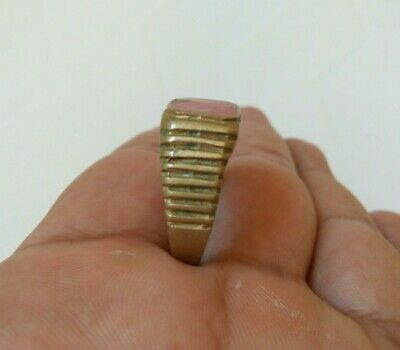 Rare Ancient Solid Ring Roman Legionary Artifact Antique Original Amazing
