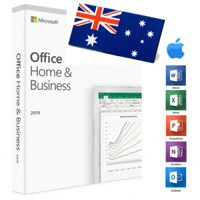 MS Office 2019 Home & Business Activation Key for MAC - AU Stock