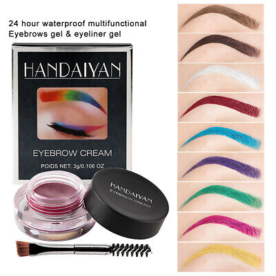Eyebrow Color Cream Tint Enhancer Waterproof Sweat-proof Long-Lasting For Makeup