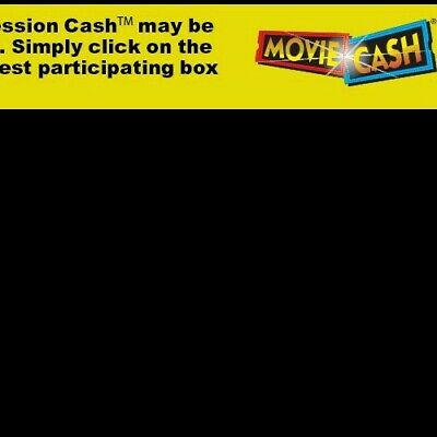 $8.00 Gift Card to AMC, Cinemark or Regal Theaters. Movie Cash