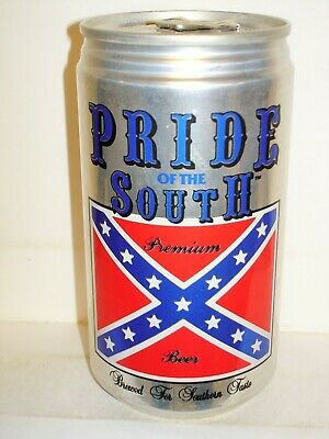 PRIDE OF THE SOUTH Beer Can C1293