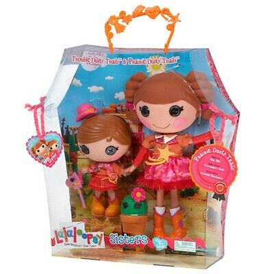 Lalaloopsy Sisters Prairie Dusty Trails & Trouble Dusty Trails **Brand New**