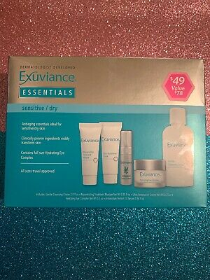 Exuviance Essentials Sensitive / Dry. (KIT) New In Box