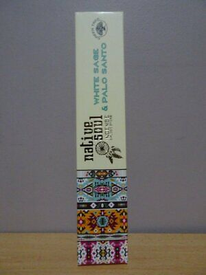 White Sage & Palo Santo - Smudge Sticks  1 Pack Green Tree - Native Soul Incense